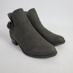 Just Fab Suede Ankle Boots